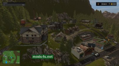 Карат Goldcrest Mountains для FS 17