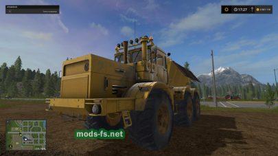 Мод трактора K-701 Fertilizer