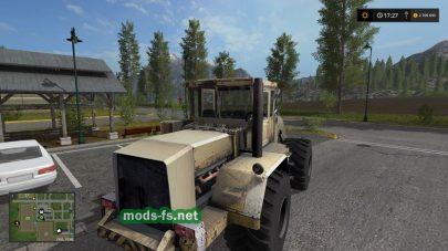 Kirovets 702 WheelLoader mods