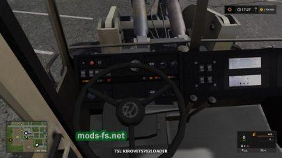 Kirovets 702 WheelLoader LS17