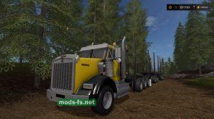 Мод грузовика KW T800B