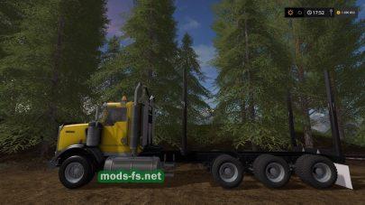 Грузовики для перевозки леса в игре FS 17