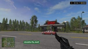 Мод оружия для Farming Simulator 2017