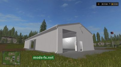 Мод гаража для FS 2017
