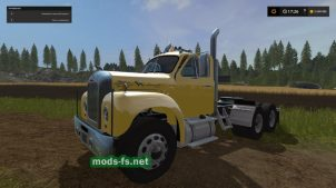 Mack Truck Und Trailer Set