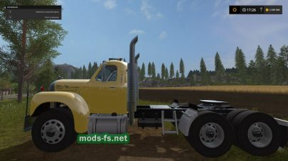 Мод тягача Mack Truck