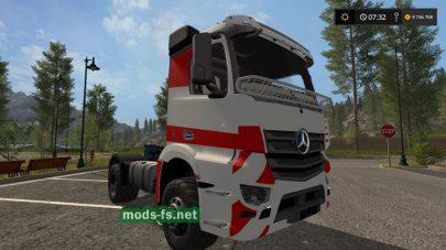 Скриншот мода «Mercedes Benz Antos»