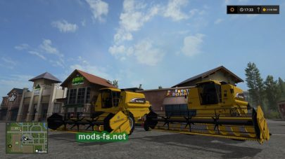 Мод New Holland TC 59
