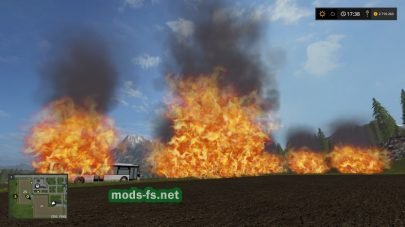 fs17 placeable fire
