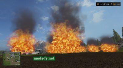 fs17 placeable fire