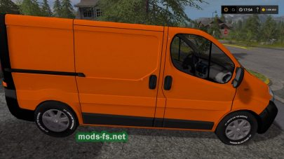 Renault Trafic mods FS 17