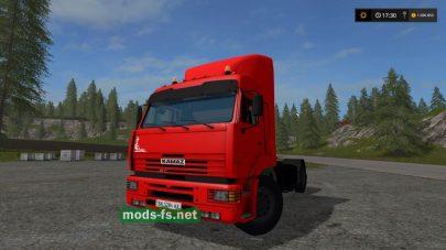 Kamaz 5460 mods fs 17