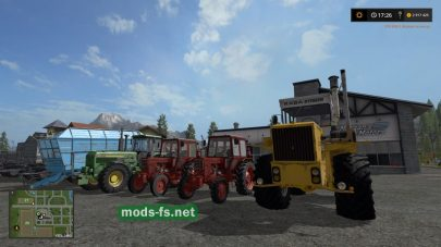 Пак тракторов для Farming Simulator 2017