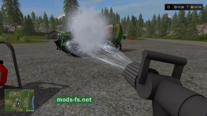 Water Sprayer mods