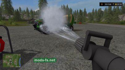 Water Sprayer mods