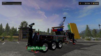 Мод самоходного крана для Farming Simulator 2017