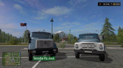 ЗИЛ-130 для Farming Simulator 2017