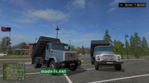 Пак грузовиков ЗИЛ для FS 17
