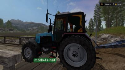 Белорус 1221 для Farming Simulator 2017