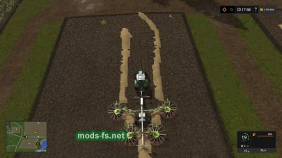 Claas Liner 4000 FS 17