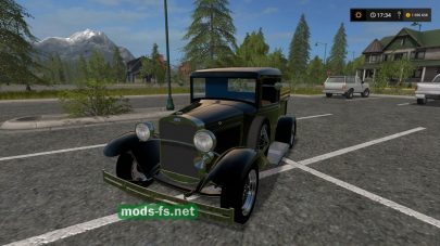 Ford Model A 1930 mods