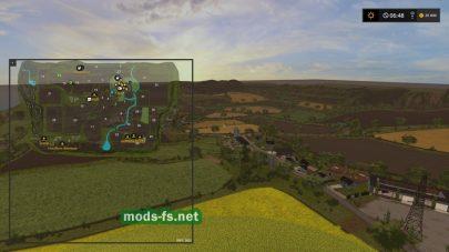 Схема карты Gwendal