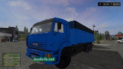 Мод КамАЗ 65117