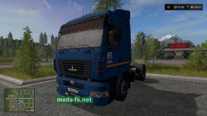 Тягач МАЗ-5440 для FS 17