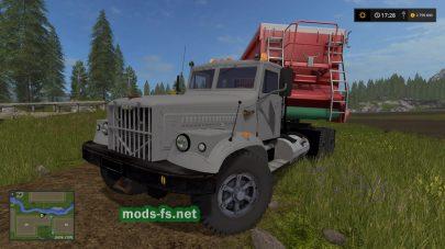 Мод на KrAZ-256 M82S