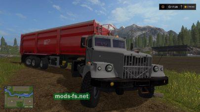 Мод грузовика KrAZ-256