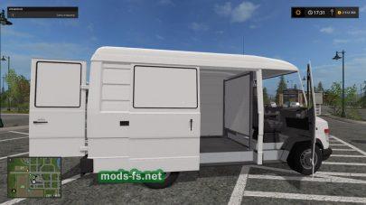 Мод фургона Mercedes-Benz Vario