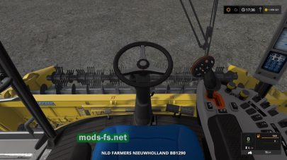 Мод тюкопресса New Holland