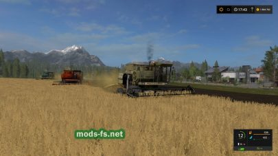 Комбайны ДОН для Farming Simulator 2017