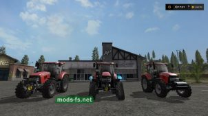 CASE IH MAXXUM PACK