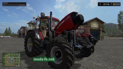 Мод трактора CASE MAXXUM