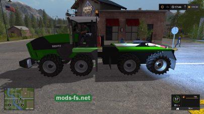 Мод трактора-тягача DEUTZ