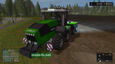 Мод трактора DEUTZ-FAHR