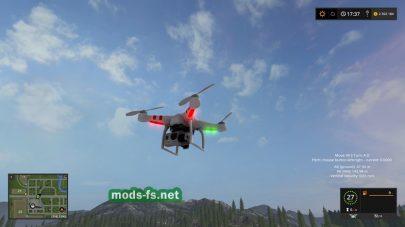 Квадрокоптер для Farming Simulator 2017