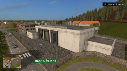 гаражи в игре FS 17
