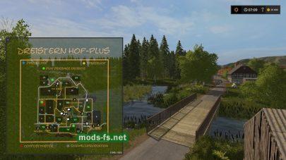 Схема карты DREISTERN HOF SEASONS PLUS