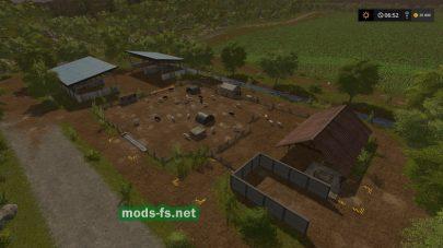 Русская ферма для игры Farming Simulator 2017
