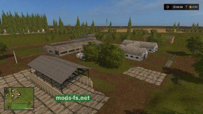 Ферма на карте Колхоз Рассвет
