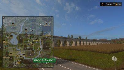 Скриншот карты Valley Crest Farm