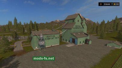 Карта Valley Crest Farm для FS 2017