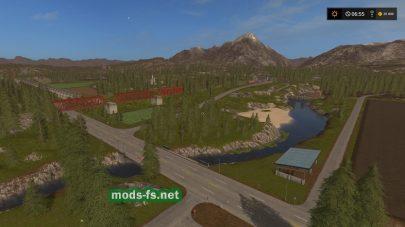 Мод Valley Crest для игры FS 17