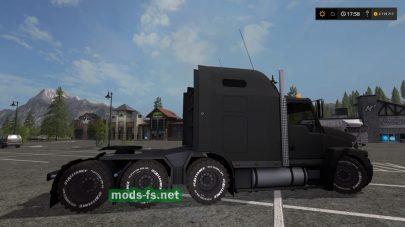 Мод грузовика Газ Титан