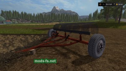 грабли для Farming Simulator 2017