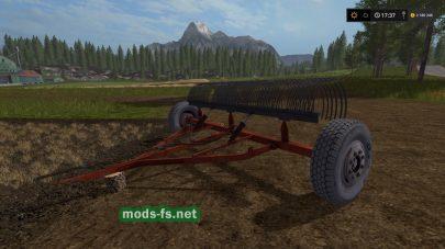 грабли для Farming Simulator 2017