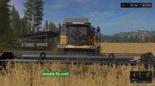 Уборка урожая в FS 2017