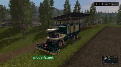 Krone BIG-L500 PRO mods